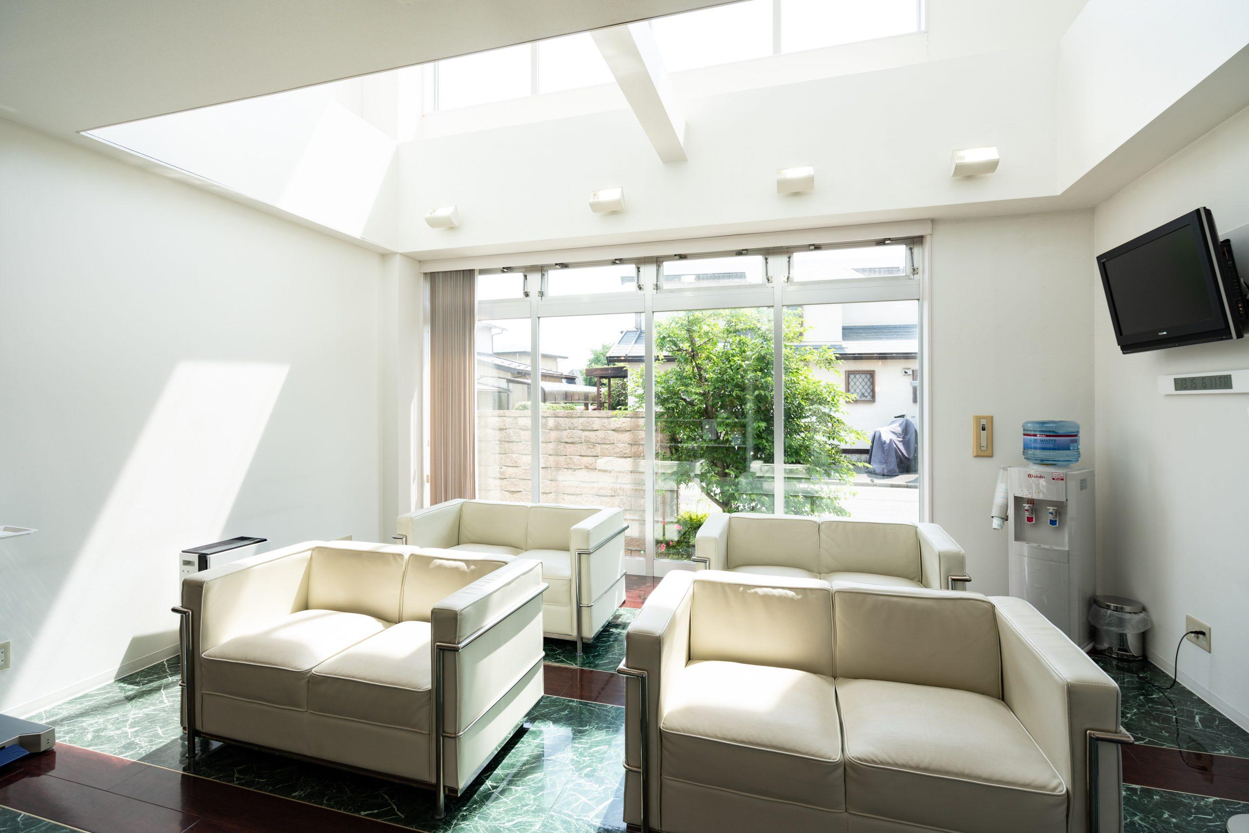 待合室|盛岡市で歯医者をお探しの方は、ふじの歯科医院